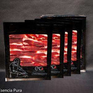 Cinco sobres de 200 gramos de paleta ibérica de bellota