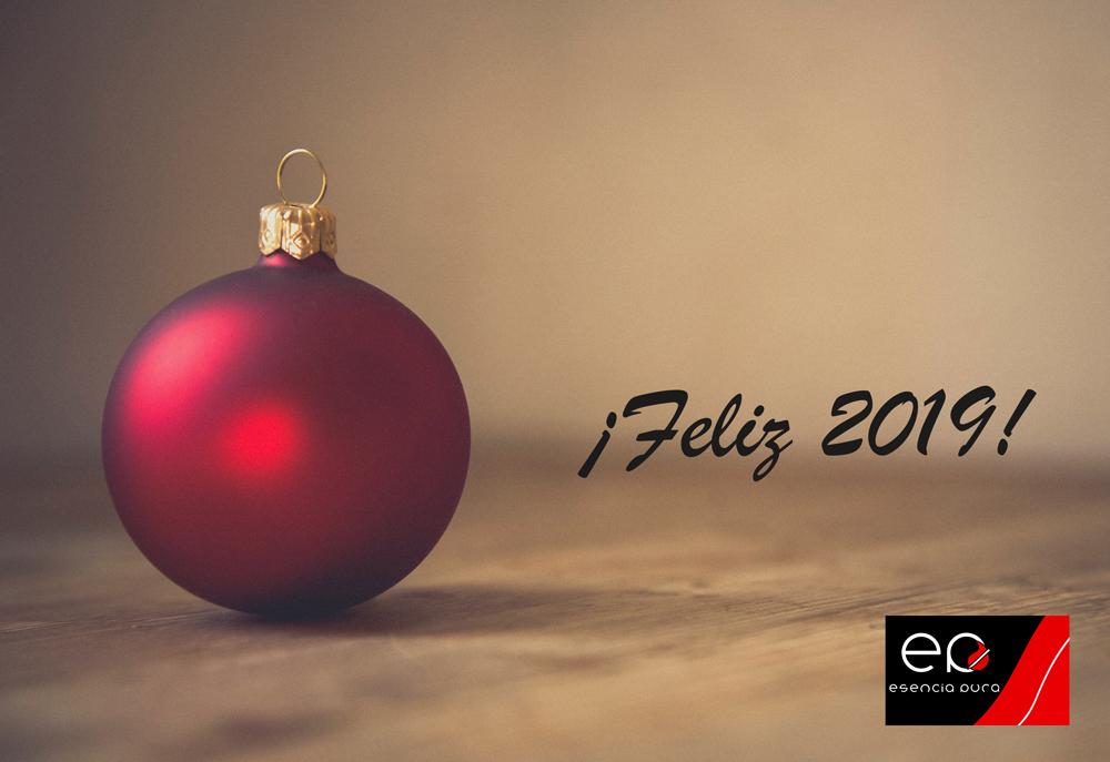 Esencia Pura les desea feliz año
